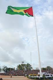 Guyana Flag Video Thousands Gather For Flag Raising At D U0027urban Park