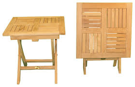 Outdoor Folding Side Table Photo Of Outdoor Folding Side Table Teak Square Folding Side Table