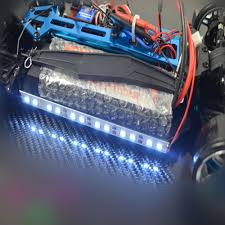 aliexpress com buy 24 led rc car 1 8 1 10 common chassis light