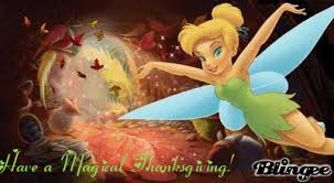a tinkerbell thanksgiving picture 118470298 blingee