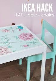 ikea hack latt table and chairs hometalk