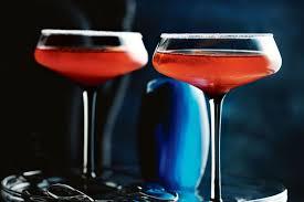 red martini strawberry gin martini recipes delicious com au
