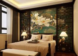 bedroom new 2017 floral wallpaper on the black wall chinese