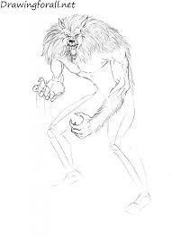 how to draw werewolf drawingforall net
