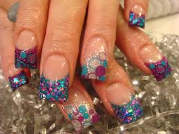 cute acrylic nail art how you can do it at home pictures