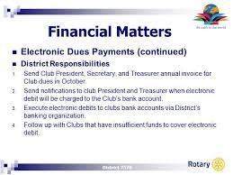 district 7570 jim ridenour district treasurer pets financial