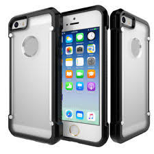 ghostek covert clear shockproof bumper defender case cover for