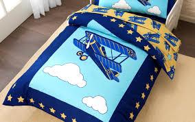 Airplane Bed Bedding Set Wonderful Airplane Toddler Bedding Pottery Barn Kids