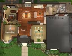 new american floor plans mod the sims 4 bedroom u0027new american u0027 style home