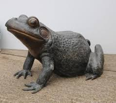 garden frog statue the gardens