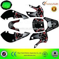 skull motocross helmet klx110 style motocross sticker with skull logo buy klx 110 style
