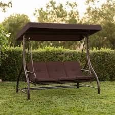 converting outdoor swing canopy hammock seats 3 patio deck