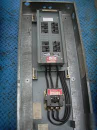 D Bus Panel W 100 Lighting Contactor