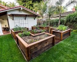 raised vegetable garden beds houzz