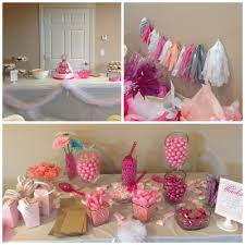 candy bar baby shower baby shower simply social pink baby shower dessert table pink