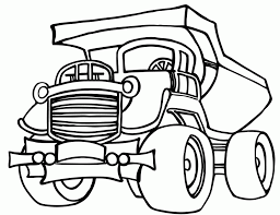 dump truck coloring pages many interesting cliparts