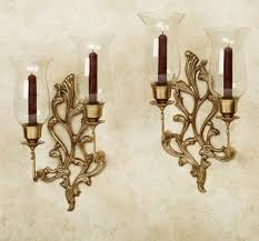 Tuscan Candle Wall Sconces Bathroom With Pedestal Sinks And Tuscan Wall Sconces Choosing