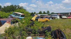 car junkyard michigan hidden classic car junk yard youtube