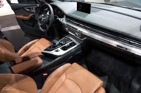 Audi Q7 2015 - 2015 naias audi q7 interior motoring rumpus