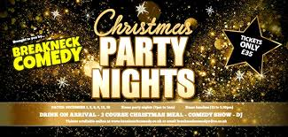 Christmas Party Night - christmas party aberdeen breakneck comedy breakneck comedy