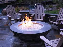 How To Build A Gas Firepit Gas Pits And Fireplaces Design Ideas