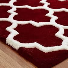 Modern Rugs Uk by Red Modern Rug By Oriental Weavers Therugshopuk