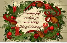 merry christmas eve holiday wish idea
