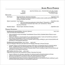 Best Latex Resume Template by Resume Templates Latex Haadyaooverbayresort Com
