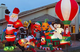 christmas inflatables most christmas decorations tetex