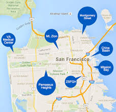 san francisco hospitals map center imaging center locations ucsf radiology