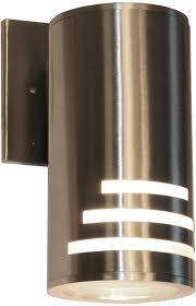Stainless Steel Exterior Light Fixtures Artcraft Ac8004ss Nuevo Contemporary Stainless Steel Exterior