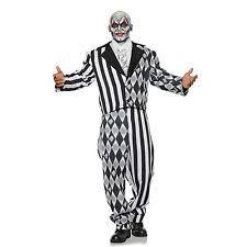 Halloween Jester Costume Evil Jester Costume Ebay