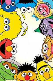 sesame street characters head clipart parteestry etsy