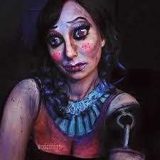 ad horror makeup transformations 33