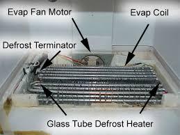 refrigerator defrost cycle diagnostics