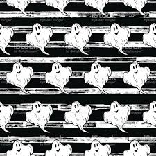halloween stripe background halloween seamless pattern hand drawn ghost on grunge striped