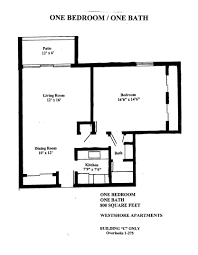 1 Bedroom Apartment Floor Plans by 0 1 2 Bedroom Apartments For Rent In Tampa Fl Westshore