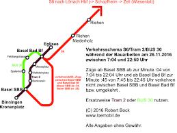 Basel Bad Bf S6 Sa 26 11 2016 Zugausfälle Zwischen Basel Bad Bf Und Basel