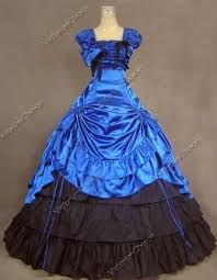 Ball Gown Halloween Costume Southern Belle Victorian Good Witch Dress Ball Gown Theatre