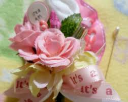 Baby Sock Corsage Baby Shower Corsage Etsy
