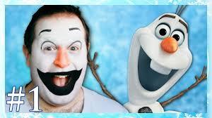 Disney Frozen Olaf Makeup Tutorial Part One Fancy Dress Dress