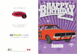 personalized birthday greeting cards printed and mailed for you by