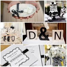 decoration mariage noir et blanc deco mariage noir et blanc all things wedding