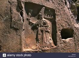 th e chambre b rock carving in chamber b depicting god sharruma and king tudhaliya