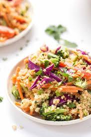 almond butter thai quinoa salad simply quinoa