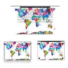 Watercolor Map Of The World by Online Get Cheap Map Laptop Skin Aliexpress Com Alibaba Group