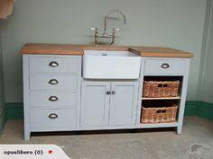 kitchen sink furniture 3 drawer wine box belfast sink unit solid wood freestanding