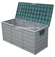 Patio Storage Chest by Outdoor Storage Box Lockable Weatherproof Garden Tools Seat Patio