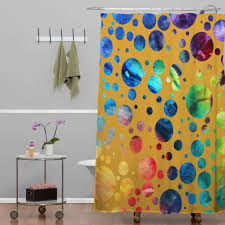bathroom blind ideas bathroom modern colorful fabric dotted unique shower curtain