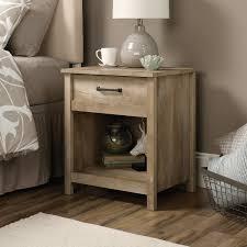 Bedroom Set In Salt Oak Amazon Com Sauder 416868 Night Stand Furniture Cannery Bridge